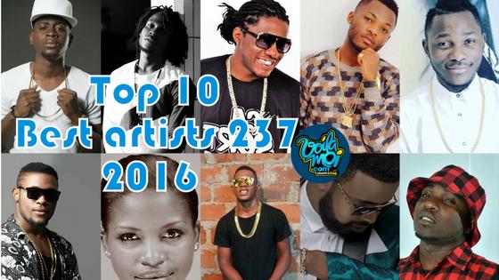 Top 10 des artistes Camerounais en 2016