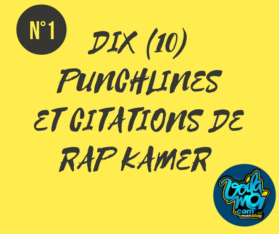 Dix Punchlines Et Citations De Rap Camerounais N 1 Voila Moi